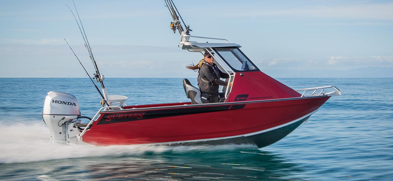 Surtees 540 Workmate Hardtop Best Aluminium Fishing Boat New Zealand Australia Built To Fish Surtees Boats