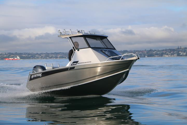Surtees 540 Workmate Hardtop - Best aluminium fishing boat ...